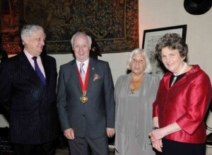 From L-R: The Lord Lieutenant Viscount De L'Isle, Chairman of KCC Mr Mike Harrison, Mrs Jeanne Harrison, and Viscountess De L'Isle (c) Barry Duffield