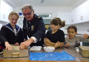 Cookery Demonstration with Barry Duffield DL at the Sittingbourne Sea Cadets Open Evening