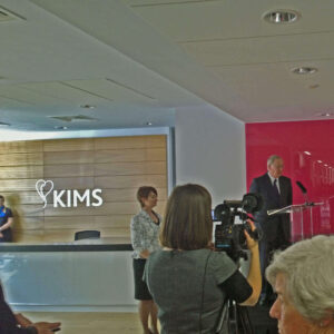 Duke of Gloucester opens Kent Institute of Medicine and Surgery