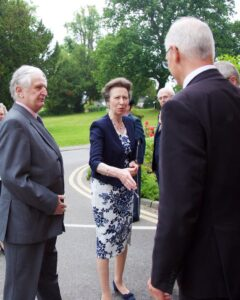 The Lord-Lieutenant of Kent presenting the Princess Royal to Headmaster Dr Weeds. (c)Ali Kittermaster at Blush Photography