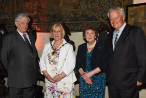 Left to right: Viscount De L'Isle, Lord-Lieutenant of Kent; Cllr Mrs Jessamy Blanford, The Worshipful the Mayor of Ashford; Viscountess De L'Isle; Mr Mike Bax DL. (c) Barry Duffield DL.