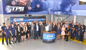 TPS Global Logistics Staff at the event enjoying the special celebration.(c) Rob Berry.