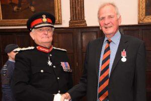 Pictured right, Mr Ewen Kellas. (c) Barry Duffield DL.
