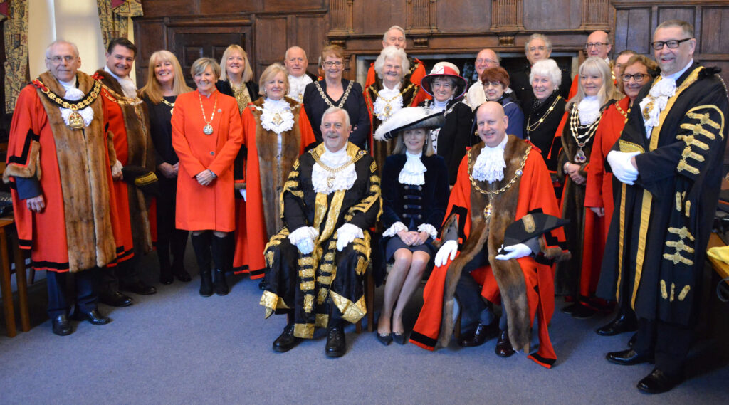 Civic Dignatories pictured at the Lord-Lieutenant's Civic Service. (c) Rob Berry